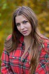 Kornelia (piotr_szymanek) Tags: kornelia woman young skinny portrait outdoor face longhair autumn eyesoncamera leaves korneliaw 1k 20f 50f 100f