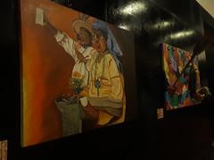 Recolección de alimentos (Xtina_05) Tags: arte pintura huichol huicholes recolección alimento