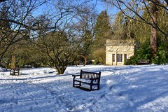 Empty seats (Nige H (Thanks for 15m views)) Tags: nature landscape winter snow bath somerset england bench happybenchmonday peaceful tranquil