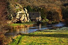 la paix retrouvée (eric-foto) Tags: moulindulosser côtesdarmor nikond800 rivière river moulin arbre reflets bretagne brittany bzh breizh