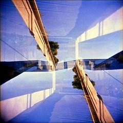 [La Mia Città] Fondazione Prada (Urca) Tags: holgalomo201810240005 milano italia 2018 holga lomo doppiaesposizione doubleexposure analog analogico 120 6x6 square medium multi film filmisnotdead toycamera fondazioneprada