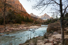 Zion Winter (clay townsend) Tags: zion national park utah watchman winter mountains cold desert landscape scenery