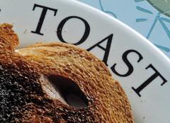 _DSC6876a (alfplant2009) Tags: hole macromondays toast burned plate food