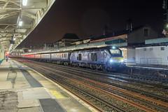 DRS 68007 Newport (daveymills37886) Tags: drs 68007 newport class 68 direct rail services pathfinder tours blue boys loco fest