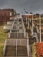 Stairmaster (Marion McM) Tags: steps stairs flightsofstairs dundee angus tonemapped scotland streetphotography canoneos6dmk11 2019