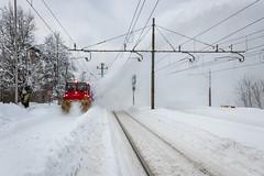 HZ 9325 311 (Rolba), Oštarije (josip_petrlic) Tags: hrvatske željeznice hž croatian railways railroad railway croatia vlak vlakovi train zug eisenbahn ferrovia železnice željeznica zeleznice zeljeznice snow zima rolba