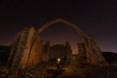 Javy Nájera Fotografía (Javy Nájera) Tags: aras españa javynájera navarra ermitasanjuan estrellas iluminaciónartificial invierno noche nocturna paisaje