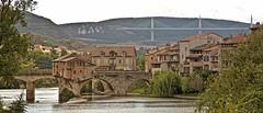The bridges of Millau (pe_ha45) Tags: millau pont bridge brücke viadukt milhau okzitanien aveyron tarn viaduct viaducdemillau architecture