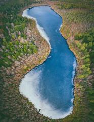 Still frozen | Paežerojus lake | Aerial #73/365