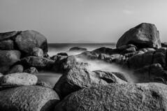 Casual rocks image (Ng Quoc Tuan) Tags: rock nikon landscape black bw travelphotography sea landscapephotography nature naturebeauty vietnam