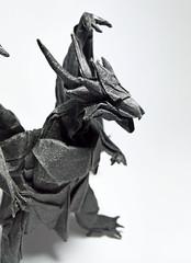 Bahamut  -designed by Satoshi Kamiya (Nguyễn Tuấn Tài) Tags: origami bahamut satoshikamiya dragon