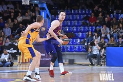 DSC_0287 (VAVEL España (www.vavel.com)) Tags: fcb barcelona barça basket baloncesto canasta palau blaugrana euroliga granca amarillo azulgrana canarias culé