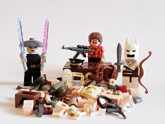 BrickForge Haul! Comment with ideas for how I should use the new loot (brickhistorian) Tags: brick bricks build building loot haul brickforge minifig minifigure military scifi star wars lightsaber lego legos custom customs accesories toy batman magnumpi