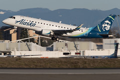 2019_03_18 KSEA stock-20 (jplphoto2) Tags: alaskaairlines alaskaairlinese170 e170 e175 embraere175 horizon horizone170 jdlmultimedia jeremydwyerlindgren ksea n636qx sea seatac seattletacomainternationalairport aircraft airline airplane airport aviation