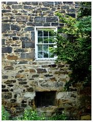 Window and Stone (e r j k . a m e r j k a) Tags: pennsylvania abode stone window encore 2015 erjk sewickleyhills