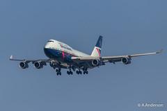 Boeing 747-400 G-BNLY BritishAirways 20190329 Heathrow (steam60163) Tags: heathrow heathrowairport boeing747 jumbojet britishairways retrolivery retrojets landor