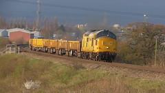 97304 John Tiley (66760 David Gordon Harris) Tags: networkrail class97 6c70 97304 machynlleth basfordhall