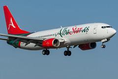 Albastar / B738 / EC-MTV / LFRS 21 (_Wouter Cooremans) Tags: lfrs nte spotting spotter avgeek aviatrion aviation airplanespotting albastar b738 ecmtv 21