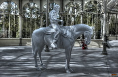 Charles Ray - Cuatro moldes (Jose Luis RDS) Tags: ray charles esculturas artemoderno rx10 sculptures 2019 arte madrid sony caballo horse