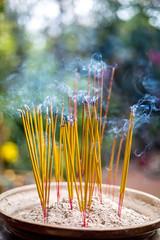 Incense (3) (Cédric Fumière) Tags: religion boudhism cambodia smoke incense phnompenh kh