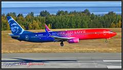 N493AS Alaska Airlines (Bob Garrard) Tags: n493as alaska airlines moretolove boeing 737 anc panc