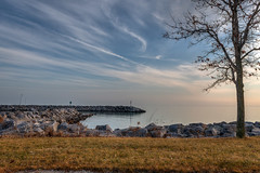 LostHorizon (jmishefske) Tags: 2018 december d850 nikon lakefront horizon wisconsin boatlaunch bender park milwaukee lakemichigan county shore