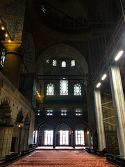 Blue Mosque Corridor.jpg (Ketan Pandit) Tags: culture asia travel shoots photography iphone architecture history canon europe turkey istanbul cats palace sultan bosporous tourist pandits istiklal