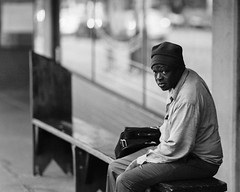man on a bench at the market (stevebanfield) Tags: streetphotography man alpha bench pikeplacemarket sony flickr street seattle a99