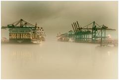 Infinitely ...... (fotoerdmann) Tags: hafen deutschland germany ship elbe hamburg fotoerdmann