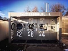 """2019 Day 18 : """"Washing your dirty laundry in public"""" (Mr. Jackpots) Tags: farringdon outdoor sunderland 247 outside washing tumbledryer washingmachine laundrette laundromat laundry"""