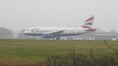 G-EUOI (S.G.J) Tags: lba leedsbradford airport plane aeroplane takeoff takingoff leeds bradford ba britishairways geuoi