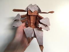 Faputa - Base completed (Jonas B. Nilsson) Tags: origami made abyss mia complex cp anime manga design folding paper