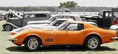 O' Vette (*SIN CITY*) Tags: corvette stingray vehicle transport car carshow orange queensland australia auto automobile americancarsinaustralia american