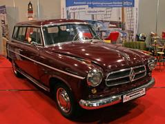 Isabella Combi (Schwanzus_Longus) Tags: bremen classic motorshow german germany old vintage car vehicle station wagon estate break kombi combi borgward isabella