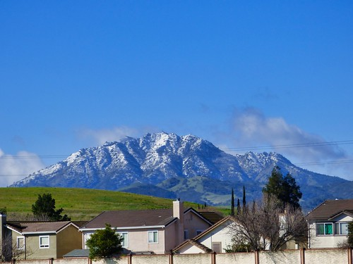 2019-02-10- Landscape Photography - Snow on Mount Diablo