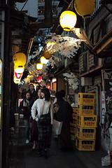 Omoide Yokocho, Shinjuku, Tokyo, Japan (Plan R) Tags: nishishinjuku shinjuku tokyo omoide yokocho alley piss pedestrian people night evening leica m 240 noctilux 50mm restaurant bar