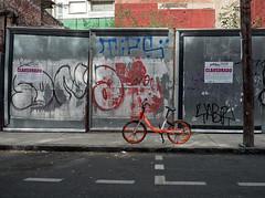 Bike (tahewitt) Tags: bicycle mexicocity city urban graffiti street