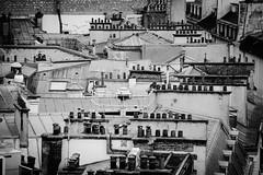 Paris (02/2019) (eguilmard) Tags: rooftop architecture noiretblanc blackandwhite france paris bnw