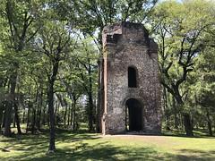 Church ruin at Colonial Dorchester State Historic Site