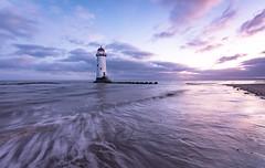Talacre lighthouse (Lukasz Lukomski) Tags: lighthouse wales cymru uk unitedkingdom greatbritain talacre pointofayr coast waves water sea tide beach lukaszlukomski nikond7200 sigma1020 landscape