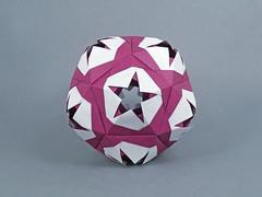 Waxflower (masha_losk) Tags: kusudama кусудама origamiwork origamiart foliage origami paper paperfolding modularorigami unitorigami модульноеоригами оригами бумага folded symmetry design handmade art