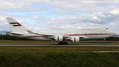 A6-HRM (Breitling Jet Team) Tags: a6hrm dubai air wing royal flight boeing 747400 euroairport bsl mlh basel flughafen lfsb eap