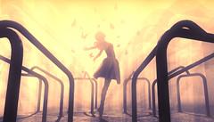 Freedom (~Rinnybird~) Tags: second life sl playground ballet ballerina butterflies artwork
