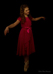 Angelic ballerina (Bina Fellowes) Tags: lowkey 100geraldinelamb milliefrost ballerina