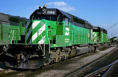 BN SD40-2 7144 (Chuck Zeiler 50) Tags: bn sd402 7144 railroad emd locomotive clyde train chuckzeiler chz