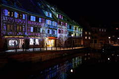 Ghosts of Christmas Future (craigcallagher) Tags: colmar christmas lights street medieval fairytale market