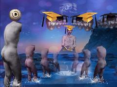 'Brainwashing the Desiccated Headless!' (tishabiba) Tags: montage tattoo torso tish artphoto artwork conceptional perception illusion surreaism surreale surreal digitalart digitalmania