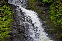 Bridesmaid Falls (thomasgorman1) Tags: falls waterfalls bushkill bridesmaid nature nikon landscape pennsylvania water travel scenic hiking ferns moss rocks