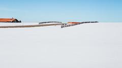 Couleurs hivernales (andrscho) Tags: neige couleurs graphique hiver highkey