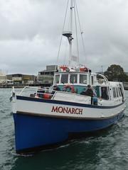 Monarch arriving in Dunedin (geoffreyw@kinect.co.nz) Tags: monarch dunedin